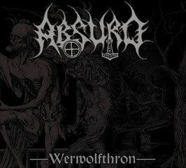 Absurd- Werwolfthron Digipac