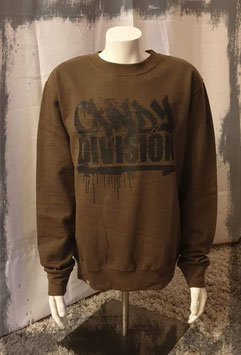 Candy Division- East German Crew Pullover Oliv