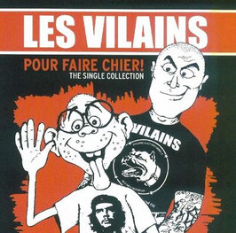 Les Vilains- Pour Faire Chier! The single Collection CD