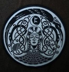 Freya (Peord Rune) Aufnäher