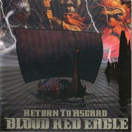 Blood Red Eagle- Return to Asgard CD