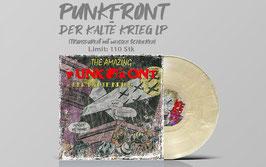 Punkfront- Der Kalte Krieg LP (Transparent mit weissen Schlieren)
