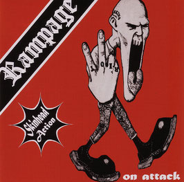 Rampage- Skinhead Action CD