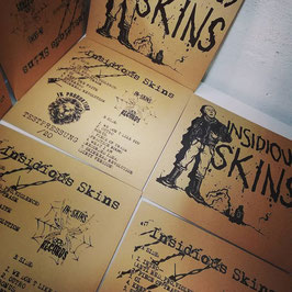 Insidious Skins- ...lurking in the Backstreets LP TESTPRESSUNG