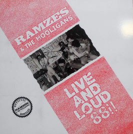 Ramzes & the Hooligans- Live and Loud ´88 LP