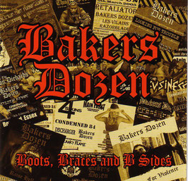 Bakers Dozen- Boots, Braces and B- Sides Doppel LP