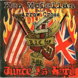 Ken McLellan& Arrow Cross- Twice as hard CD
