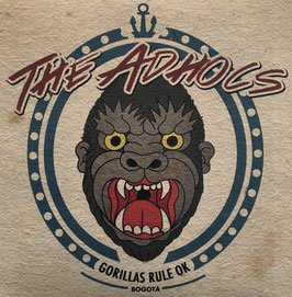 (The) Adhocs- Gorillas Rule OK EP
