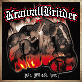 Krawallbrüder- Die Fäuste hoch LP (schwarz- weiß marmoriert)