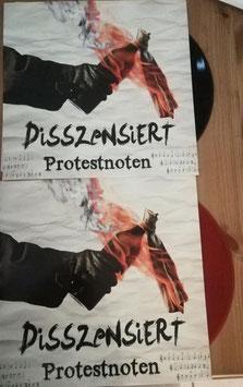 Disszensiert- Protestnoten LP