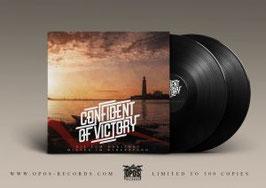 Confident of Victory- Bis zum Horizont/ Mitten im Widerstand Doppel LP schwarz