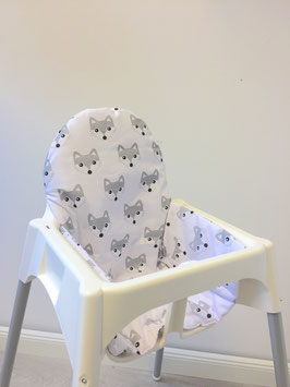Sitzkissen Füchse für IKEA Antilop Hochstuhl u.v.m.