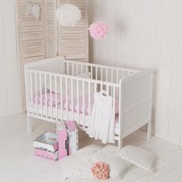 """Puckdaddy """"Wolke"""" Babybett 140x70cm, auch als Kinderbett nutzbar"""