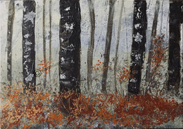 "Print of ""Winter Woodland"""