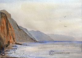 Print of Sidmouth Beach