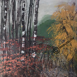 "Print of ""Winter Woodland 2"""