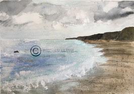 Atwich Beach 4, A4 Print