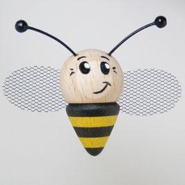 Glücksbienchen Gelb Schwarz mit Magnet