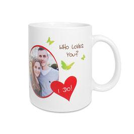 Keramik Becher Tasse glänzend oder Seidenmatt