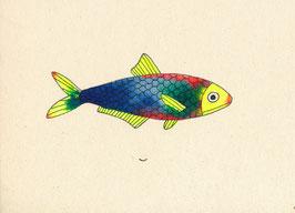 """Postkarte """"Fisch"""""""