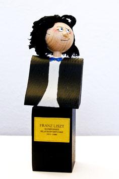 Franz Liszt (Flaschenverschluss / Denkmal)