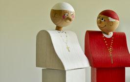 Papst Franziskus (Flaschenverschluss / Denkmal)
