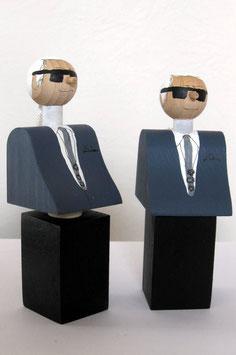Karl Lagerfeld (Flaschenverschluss / Denkmal)
