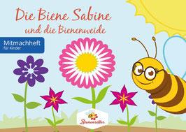 Biene Sabine und die Bienenweide - Set inkl. Saatgut