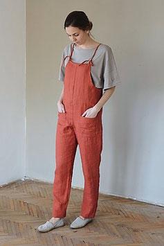 Women's Linen Overalls JACKY