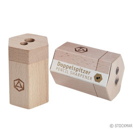 STOCKMAR Doppelspitzer aus Holz
