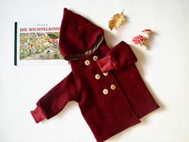 VILLA SEPIA: Wollwichteljacke/-Mäntelchen mit doppeltem Knopfreihe nach deinem Wunschdesign