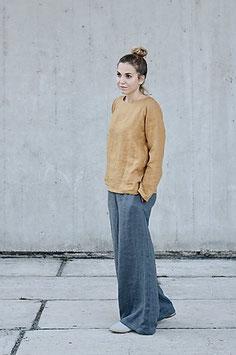 Women's Linen Top Long Sleeve