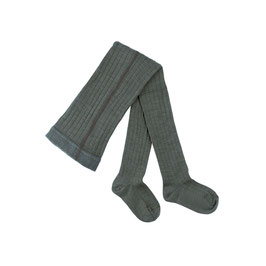 PURE PURE by Bauer Strumpfhose Wolle Smoke Green