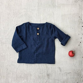 Kids Linen Top with Buttons