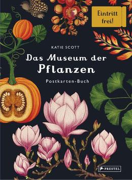 Das Museum der Pflanzen- Postkartenbuch