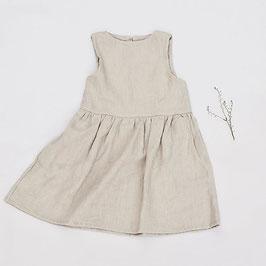Girls Linen Dress- Sleeveless