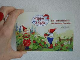"DANIELA DRESCHER: Postkarten- Set: ""Pippa und Pelle"""
