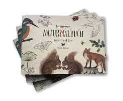 BRIGITTE BALDRIAN: Naturmalbuch