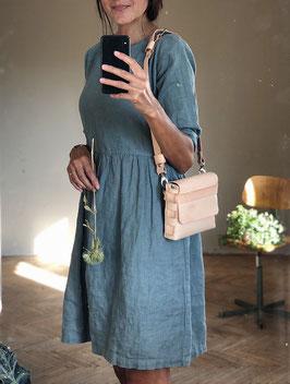 Women's Linen Dress Long Sleeve