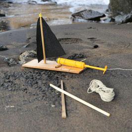 Wasserdichter Motor. Bau dein eigenes Motorboot.