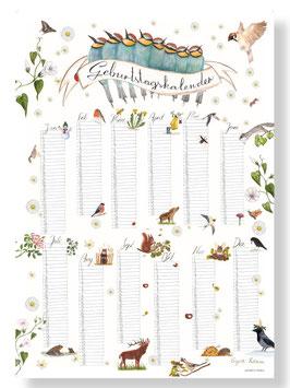 BRIGITTE BALDRIAN: Poster| Geburtstagskalender