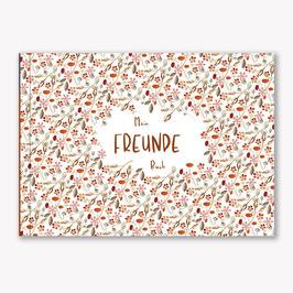 Freundschaftsbuch Blumen
