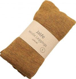 Jalfe Damen- Woll Leggings Eyelet Melange