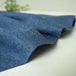 Bio Bündchen Jeansblau Meliert