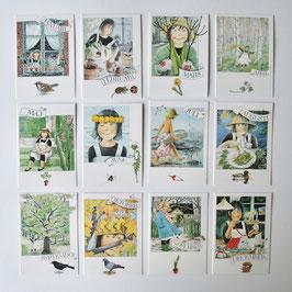 LENA ANDERSON Monatskarten