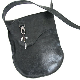 Festival Bag Black with feather