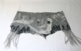 Filz-Hüftschmeichler grau