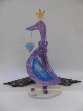 """Holzfigur """"Frieda die Ente"""""""