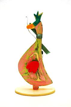 "Holzfigur ""Emma die Ente"""