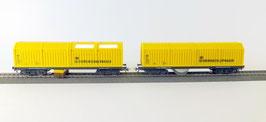 LUX Gleisstaubsaugerwagen, Schienen- und Oberleitungsschleifwagen und Mittelleiterreiniger als Setangebot